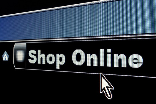 Internet Shop Online Concept